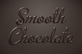 Smooth Chocolate Photoshop Style