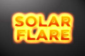 Solar Flare Photoshop Style