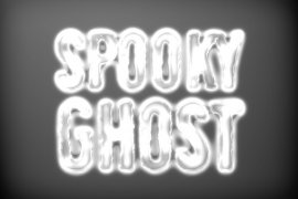 Spooky Ghost Photoshop Style 1