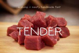 Tender Font Family