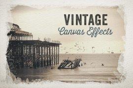 Vintage Canvas Effects Volume 1
