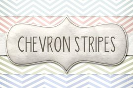 Vintage Chevron Stripes Pattern Pack 1