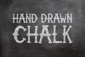 Handdrawn Chalk Photoshop Style