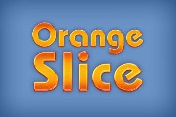 Orange Slice Photoshop Style