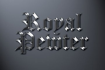 Royal Pewter Photoshop Style