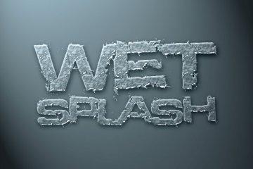 Wet Splash Photoshop Style