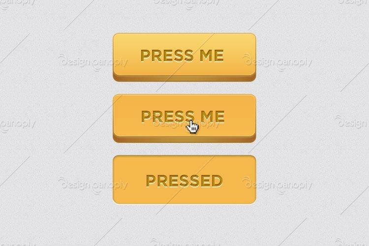 3D Web Button