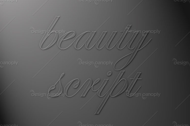 Beautiful Script Photoshop Style