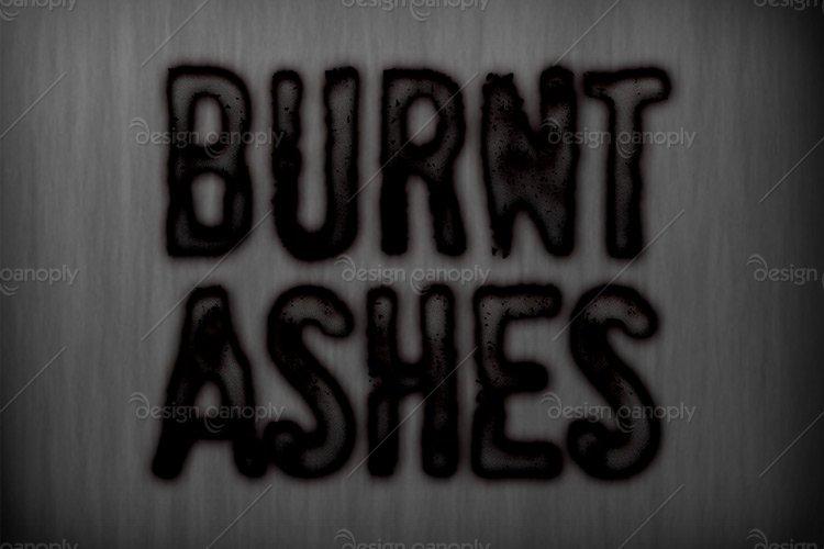 Burnt Ashes Photoshop Style