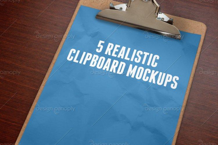 Clipboard Mockups Volume 1