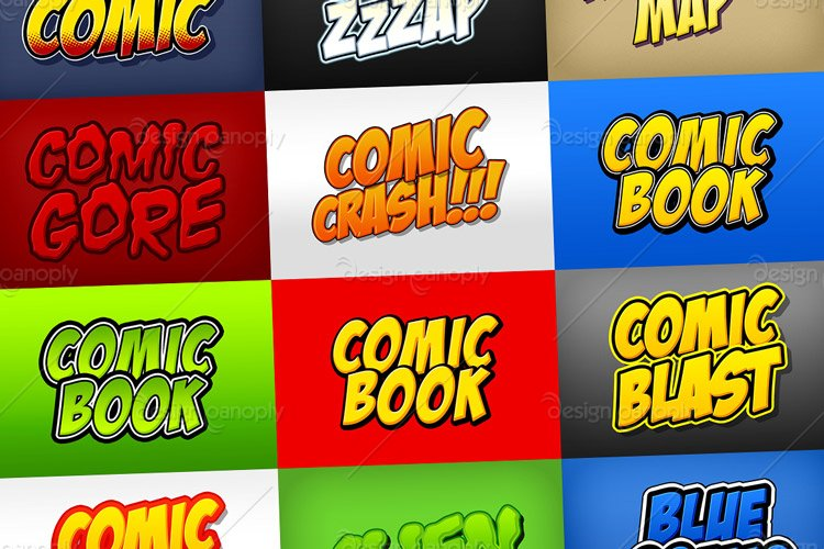 Comic Book and Cartoon Styles Pack