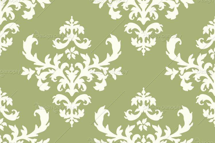 Damask Pattern 006