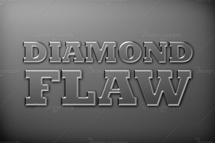 Flawless Diamond Photoshop Style