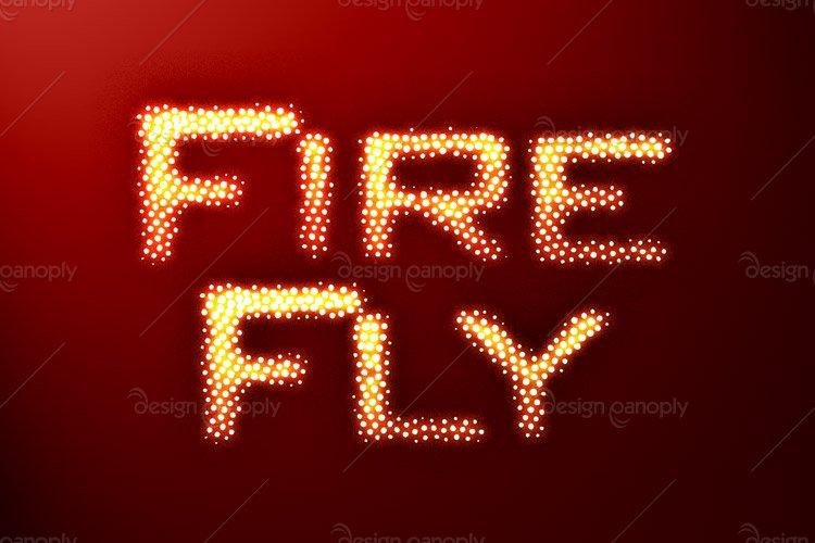 Gleaming Firefly Photoshop Style