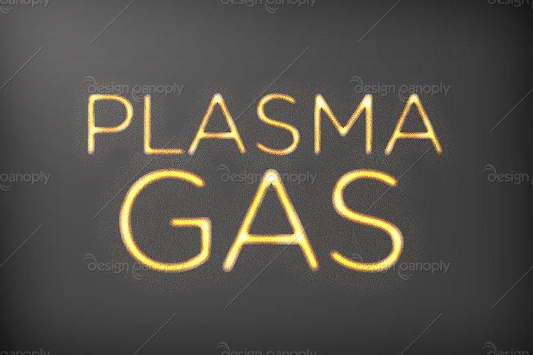 Glowing Plasma Photoshop Style