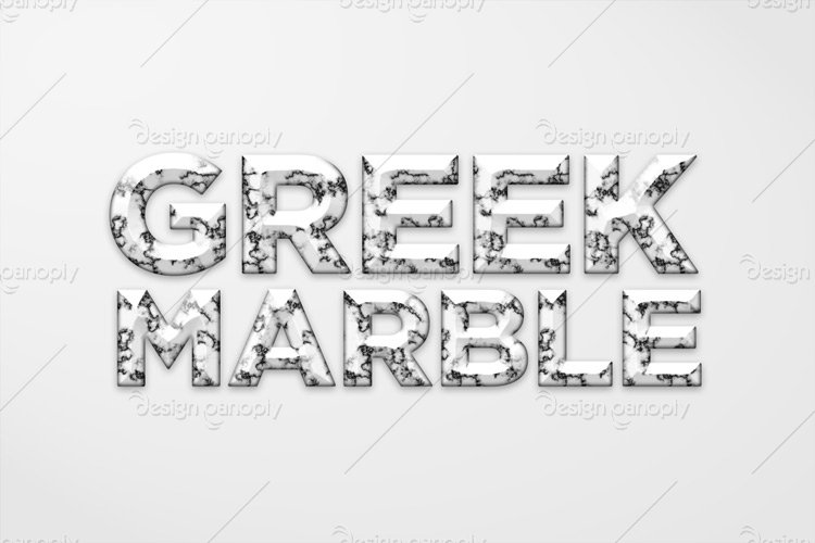 Greek Marble Photoshop Style