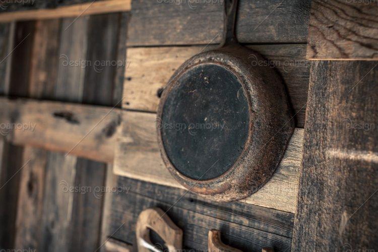 Hanging Cast Iron Frying Pan