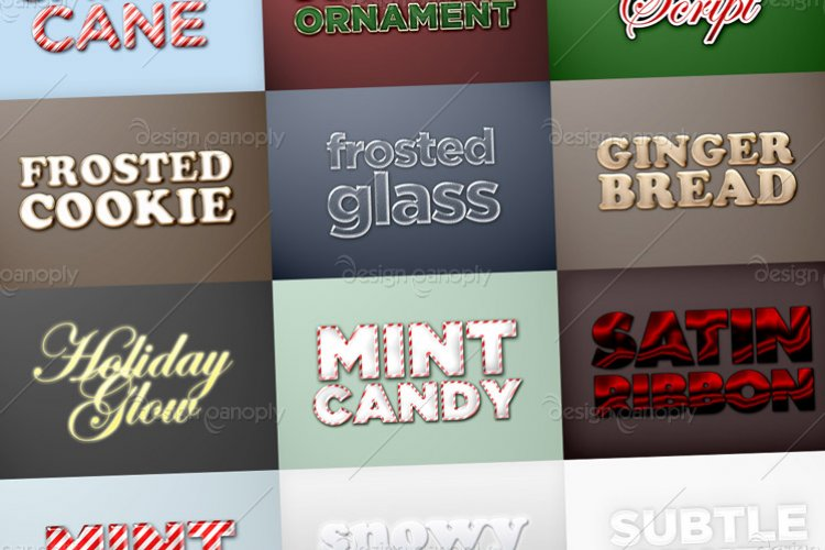 Christmas and Holiday Styles Pack