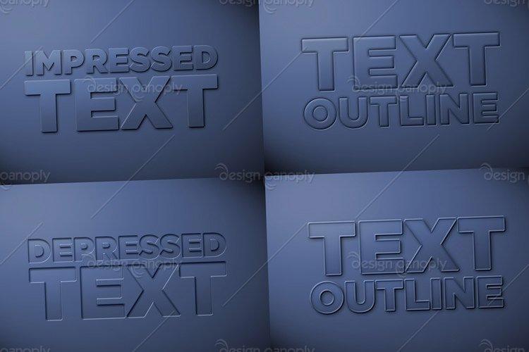Letterpress Styles Pack 1