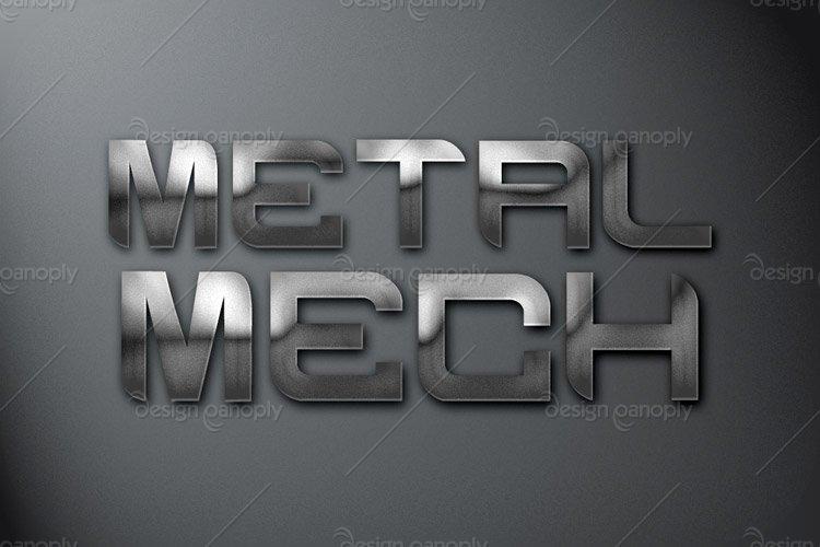 Metal Mech Photoshop Style