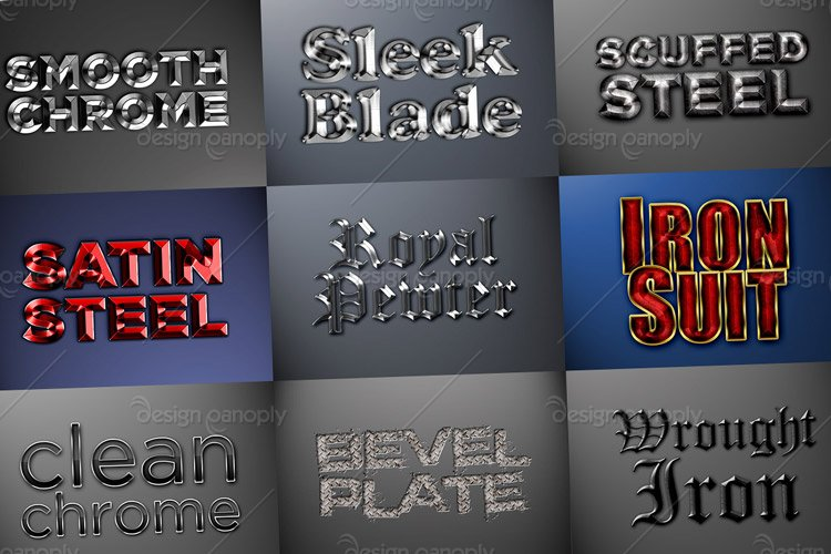 Metal Styles Pack 2