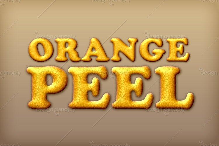 Orange Peel Photoshop Style