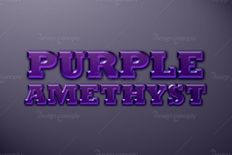 Purple Amethyst Photoshop Style