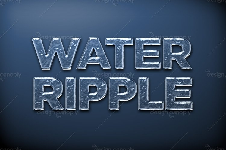 Rippling Water Photoshop Style