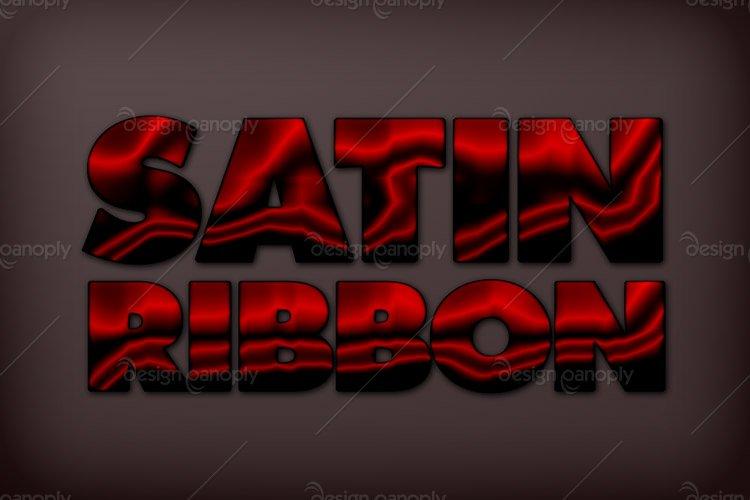 Satin Ribbon Photoshop Style