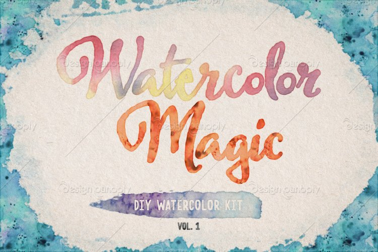 Watercolor Magic Volume 1