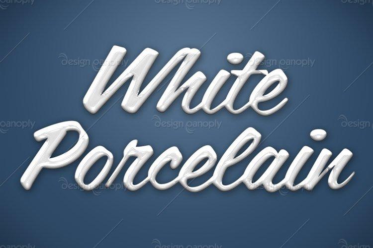 White Porcelain Photoshop Style