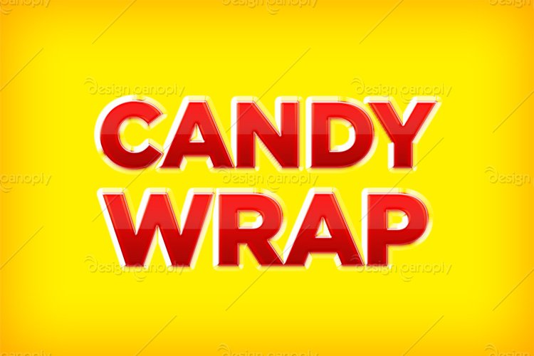 Wrapped Candy Photoshop Style