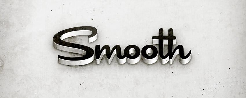 Grungy 3D Text In Illustrator
