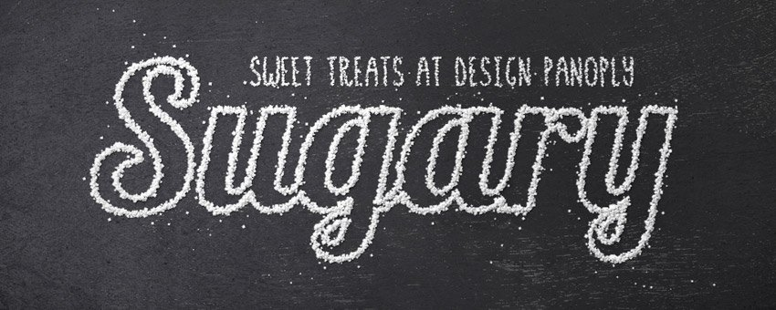 Sweet Sugar Text Effect in Photoshop