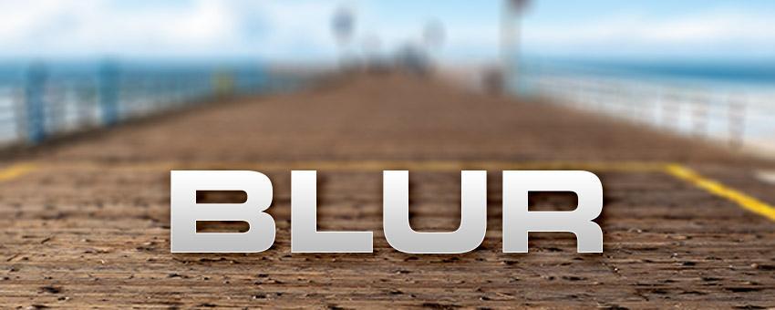 Three New Blur Filters In Photoshop CS6
