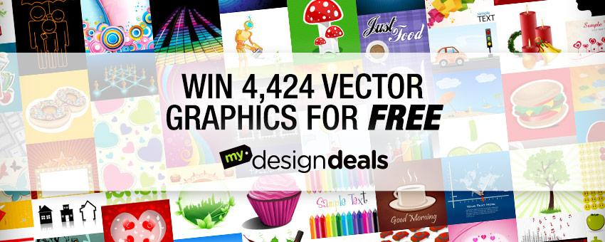 Win 4,424 Vector Graphics Worth Over $3,000 from MyDesignDeals